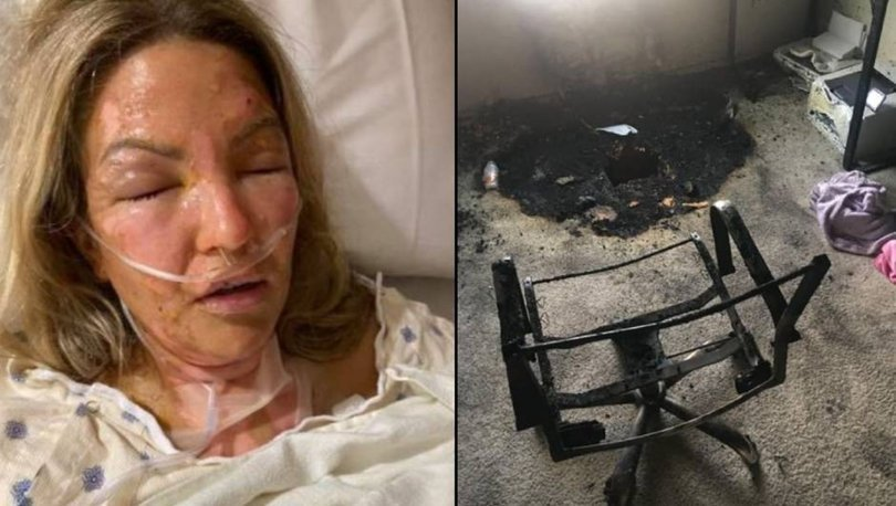 Son dakika DEHŞET! Dezenfektan kullanıp mum yakan kadın şoku yaşadı