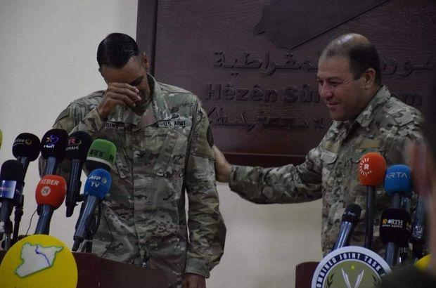 ABD'li komutan terör örgütü PKK'ya destek veremeyeceği için ağladı