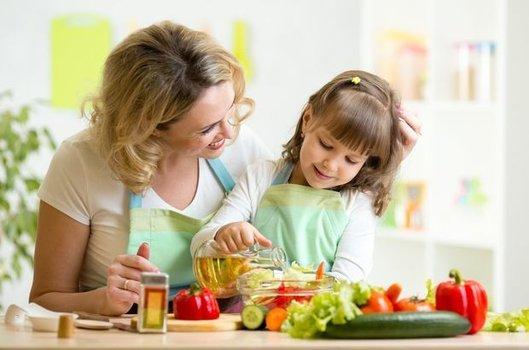 Çocuğunuzla yemek yapın