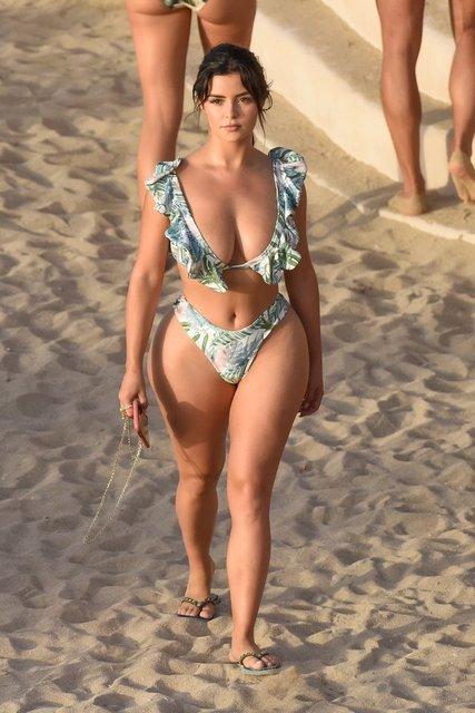 Demi Rose, Ibiza'da - Magazin haberleri