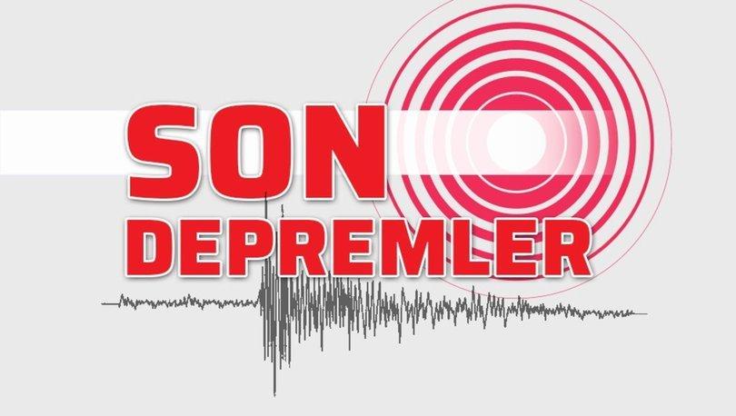 Son depremler 8 Eylül! Deprem mi oldu? AFAD ve Kandilli Rasathanesi son depremler son dakika