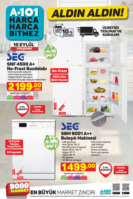 A101 BİM aktüel ürünler kataloğu! 10-11 Eylül A101 BİM ürünleri kataloğu yayında