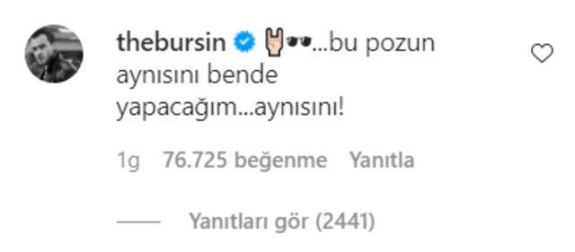 Kerem Bürsin: Bu pozun aynısını ben de yapacağım - Magazin haberleri
