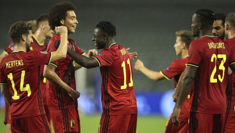 Belçika, İzlanda'yı 5-1 mağlup etti