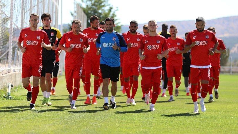 Sivasspor'da Alanyaspor mesaisi sürüyor