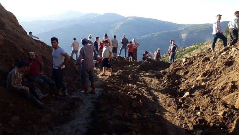 Aydın'da su kuyusu açıldığı sırada göçük oluştu: 2 ölü