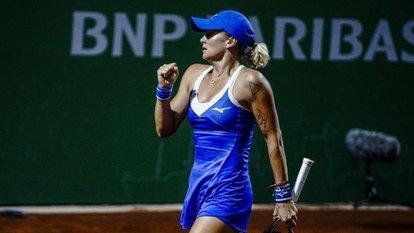 İstanbul'da tenis heyecanı sürüyor