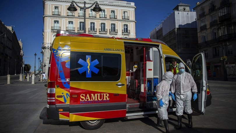 İspanyada son 2,5 ayın en yüksek Kovid-19 vaka sayısı kaydedildi