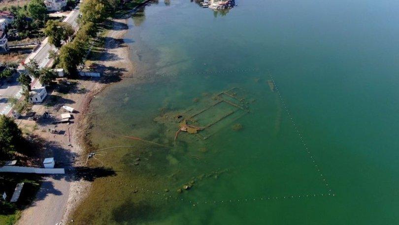 İznik Gölü çekilince ortaya çıktı... - Haberler