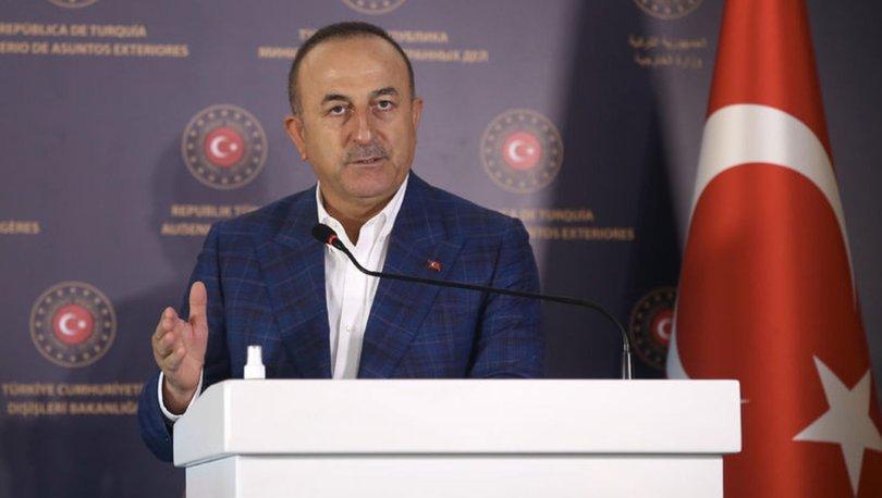 Çavuşoğlu'ndan Doğu Akdeniz açıklaması!