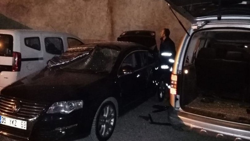 Van'da park halindeki araçta patlama korkuttu - Haberler