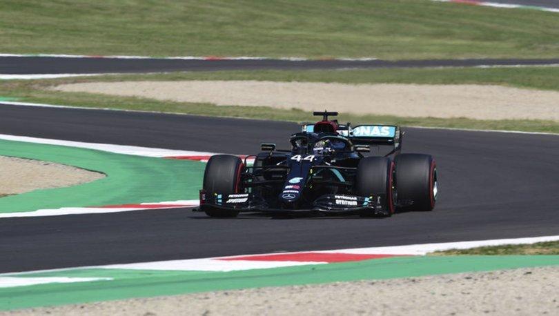 Formula 1'de olaylı yarış!