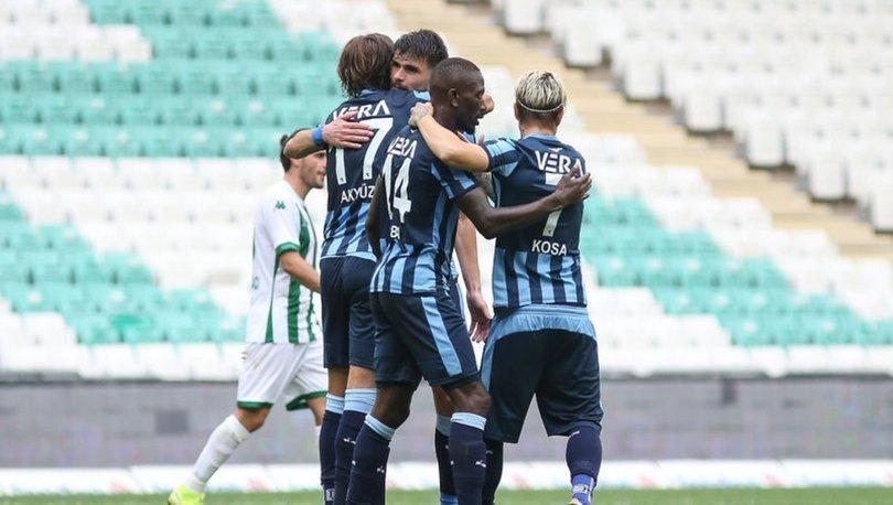 Bursaspor: 1 - Adana Demirspor: 3