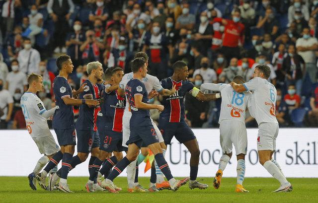 PSG - Marsilya maçında olay!