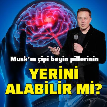 Beyin pillerinin yerini Musk'ın çipi mi alacak?