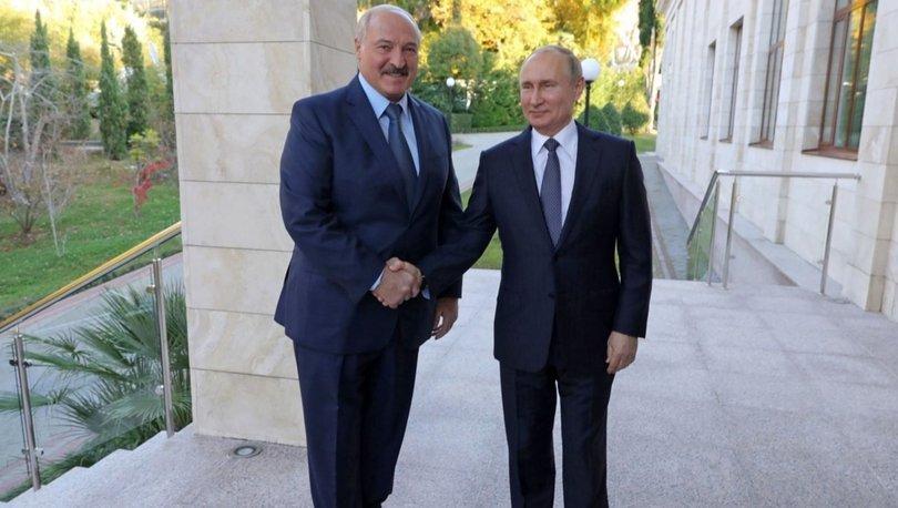 Rusya Devlet Başkanı Putin ile Belarus Devlet Başkanı Lukaşenko görüştü!