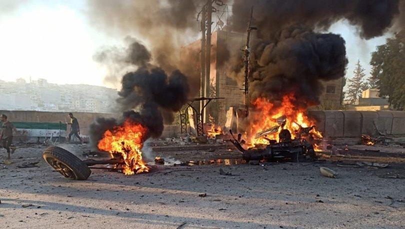 Afrin'de terör saldırısı!