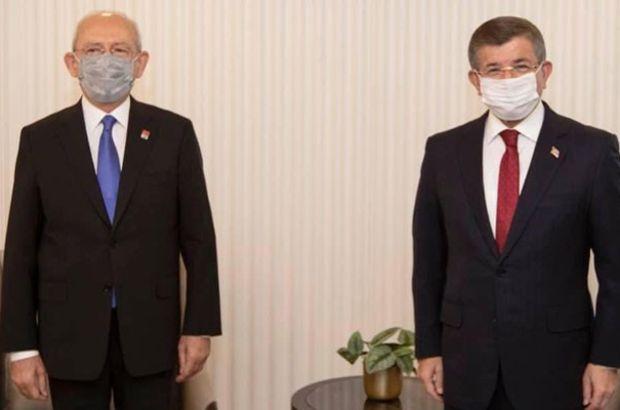 Kılıçdaroğlu ile Davutoğlu görüştü
