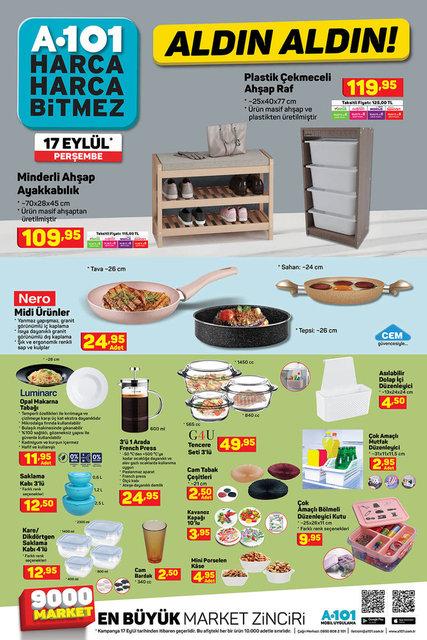 A101 BİM aktüel ürünler kataloğu! 17-18 Eylül A101 BİM aktüel ürünler kataloğu yayınlandı