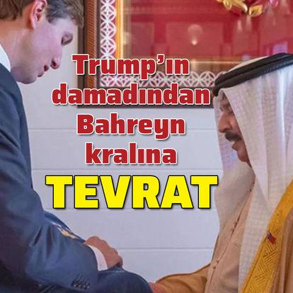 Bahreyn kralına tevrat hediye etti