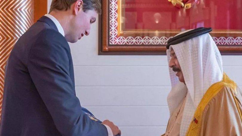 Trump'ın damadından Bahreyn kralına Tevrat!