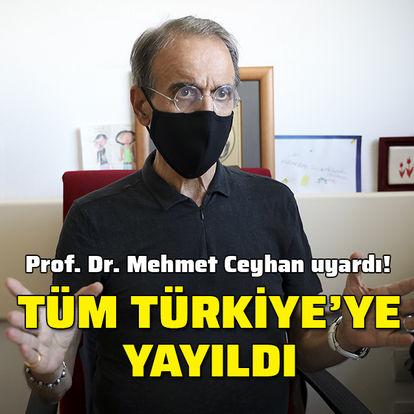 Prof. Dr. Ceyhan: Şimdi işimiz çok daha zor