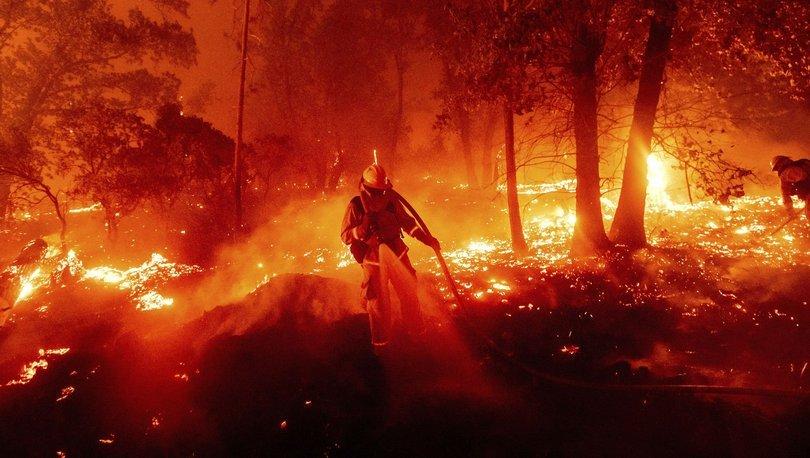ABD yangın