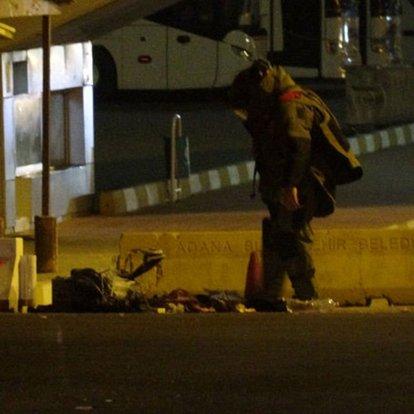 Adana Otogarı'nda bırakılan valizde kısa süreli bomba paniği