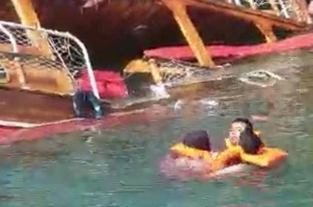 Şanlıurfa Halfeti'de tur teknesi battı!