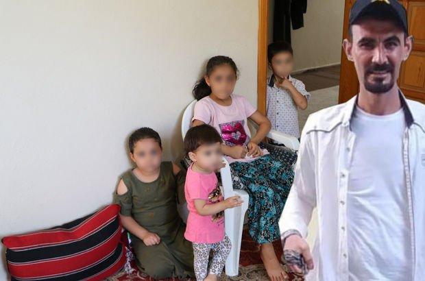 Baba vahşeti! Üç çocuğuna işkence yaptı!