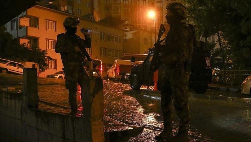 İstanbul'da aranan şahıslara yönelik şafak operasyonu: Gözaltılar var