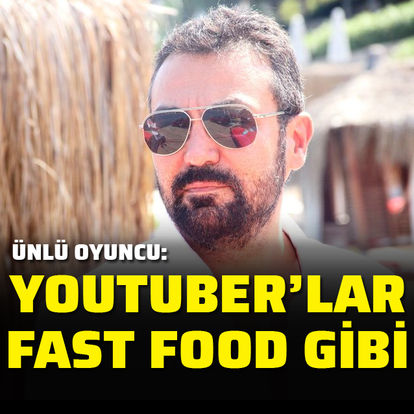"""Youtuber'lar fast food gibi"""