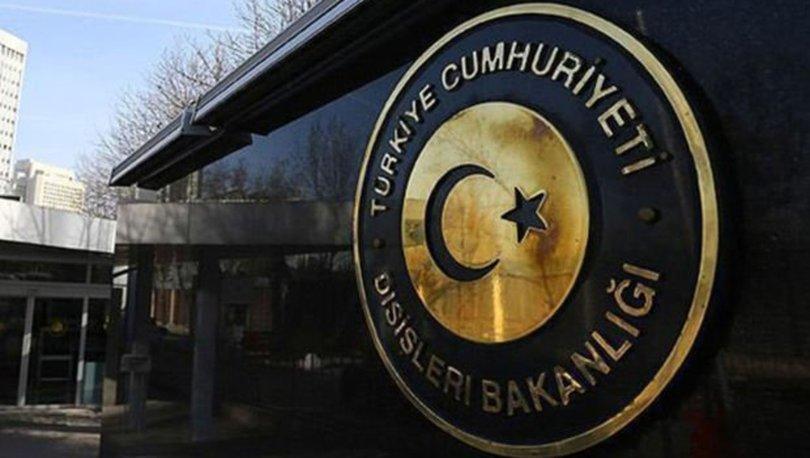 Dışişleri'nden Türkiye'ye yöneltilen asılsız iddialara tepki!