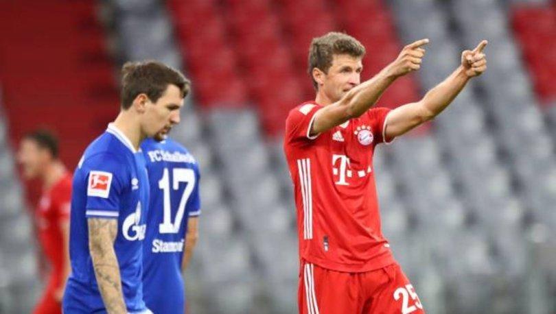 Bayern Münih: 8 - Schalke: 0 MAÇ SONUCU