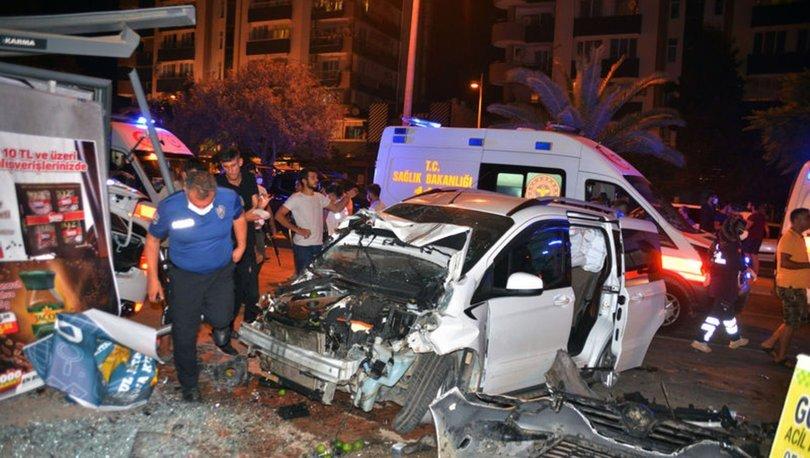 Adana'da zincirleme trafik kazası: 6 yaralı