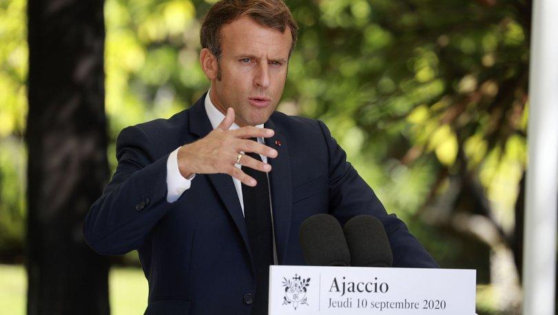 Son dakika haberi: Macron'dan Türkçe Doğu Akdeniz mesajı!