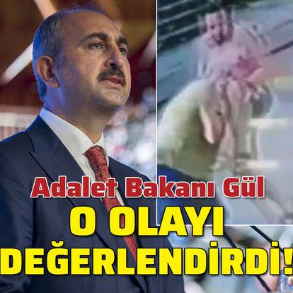 Adalet Bakanı Gül'den Halil Sezai'ye tepki!