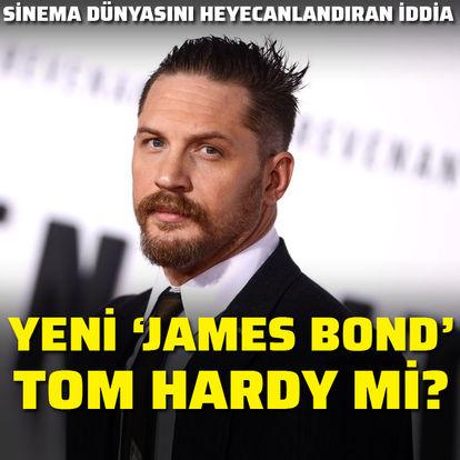 Yeni 'James Bond' Tom Hardy mi olacak?