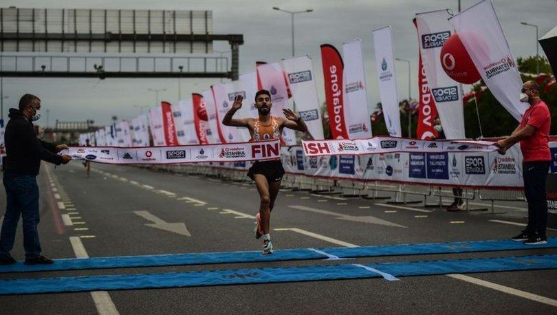 Vodafone İstanbul Yarı Maratonu yapıldı