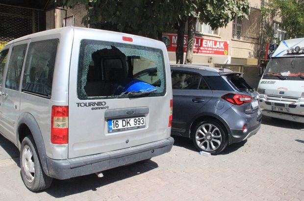 Madde bağımlısı kadın 21 aracın camını kırdı!