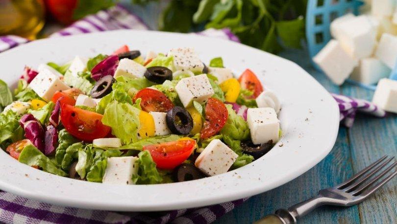 Akdeniz salatası tarifi, nasıl yapılır?
