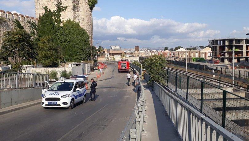 Son dakika haberler... Kablolar yanınca Marmaray seferleri durduruldu
