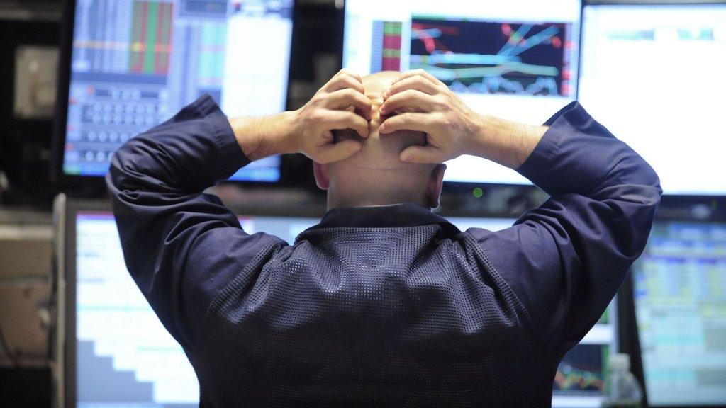 Borsalarda sert düşüş