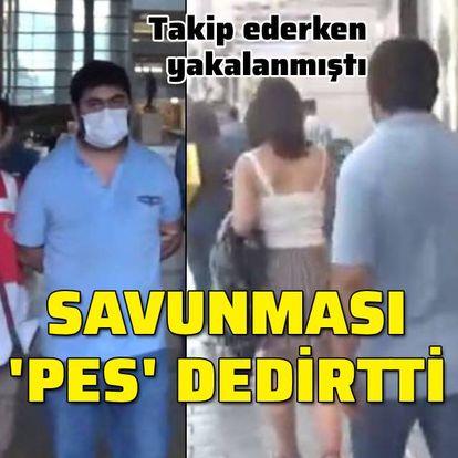 Taksim'deki takipte 'pes' dedirten savunma!