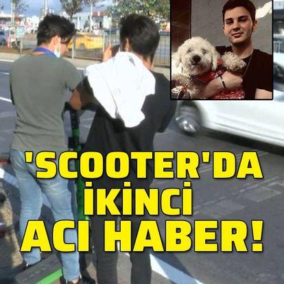 'Scooter'da ikinci acı haber!