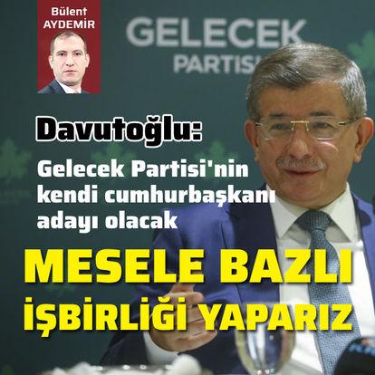 Davutoğlu medya temsilcileri ile buluştu