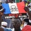 Mali'de Fransa karşıtı protestolar