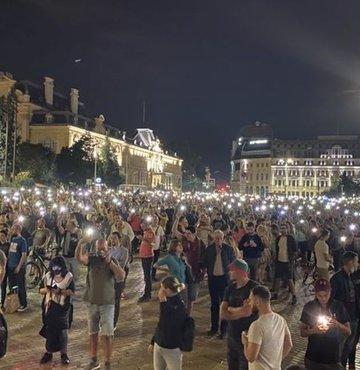 Bulgaristan'da göstericiler hükümetin istifasını istedi