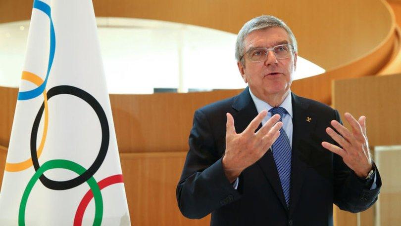 IOC Başkanı Bach'tan olimpiyat açıklaması