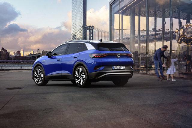 Volkswagen ID.4 tanıtıldı! Volkswagen ID.4 özellikleri
